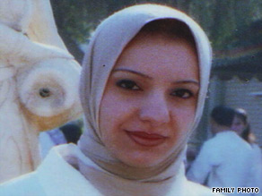 Photo of Samar Saed Abdullah provided to CNN by her family