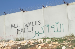 The separation wall is taking even more land from Palestine.