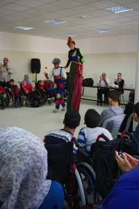 Entertainment at the Cerebral Palsy Center