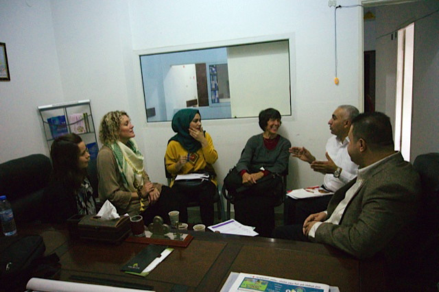 Meeting with the Director of Basmat Amal